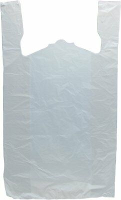 Plastic T-Shirt Bags with Handles case of 1000