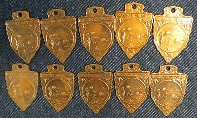 (10) Arrowhead Medals Seaside Heights New Jersey