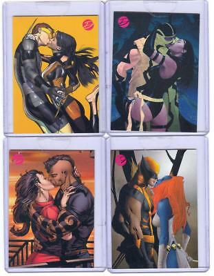 2014 Marvel Comics Dangerous Divas 2 CASETOPPER Set Of 5 Cards! MINT SEALED RARE