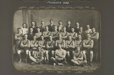 South Melbourne Football Club 1909 Premiers modern Digital Photo Postcard