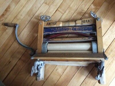 Antique Anchor Brand Clothes Wringer Lovell Manufacturing Co Erie PA Good Housek