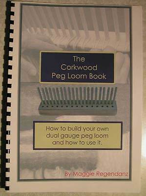 How to make and then use a  Peg Loom Book