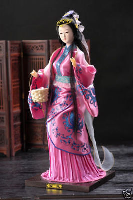 Oriental Broider Doll,Chinese Old style figurine China doll
