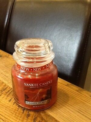 Yankee Candle Medium Jar SUMMER STORM Exclusive to USA IDEAL GIFT