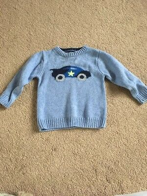Baby Boys Next Jumper Age 18-24 Months
