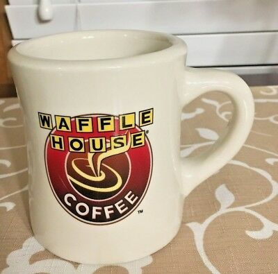 Tuxton WAFFLE HOUSE Restaurant Ware Heavy Diner Style Coffee Cup