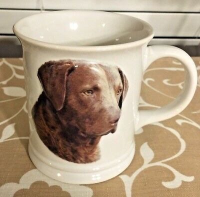1999 Xpress CHESAPEAKE BAY RETRIEVER Coffee Cup 3D Picture on Front,Barb Augello