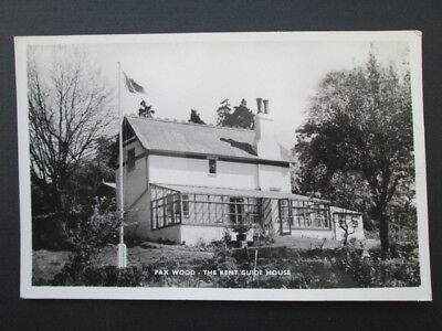 PAX WOOD, THE KENT GUIDE HOUSE, WILMINGTON - REAL PHOTO POSTCARD (1960s?)