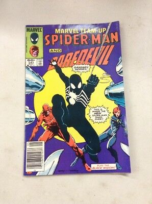 MARVEL TEAM-UP #141 1st App Spider-Man's Black Costume KEY Comic Venom Movie