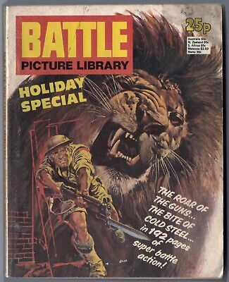 "1978. ""BATTLE"" Picture Library HOLIDAY SPECIAL War comic. 6 stories. 192 pages."