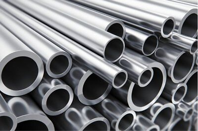 Aluminium Round Tube  Pipe  Many sizes lengths  Aluminum Alloy Bar Rod Strip 1
