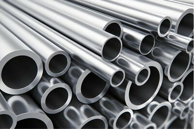 Aluminium Round Tube / Pipe /  Many sizes and lengths Aluminum Multivariation 1