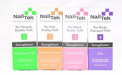 Nail Tek NailTek Natural Nails Treatment Experts Variations U Pick .5oz/15mL
