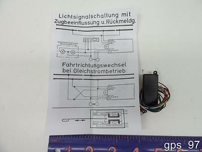 HO - Herkat 2370 Switch Relais - New Old Stock