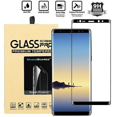 For Samsung Galaxy Note 8 Screen Protector Full Cover Curved Tempered Glass TY