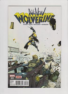 ALL NEW WOLVERINE #3 (First Print) Laura Kinney X-23 (2015 Series)