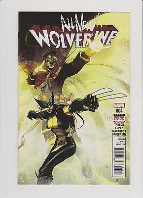 ALL NEW WOLVERINE #4 (First Print) Laura Kinney X-23 (2015 Series)