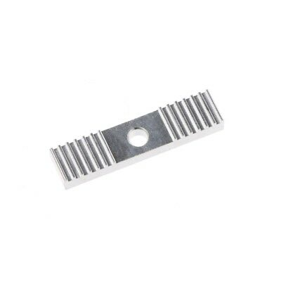 GT2 Timing Belt Fixing Piece Tooth Pitch 2mm Clamp 9*40mm DIY For 3D Printer CNC