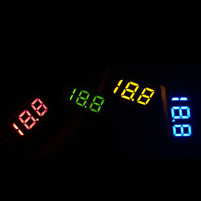 DC0-100V Voltmeter LED Panel Digital Display Volt Voltage Meter WaterProof