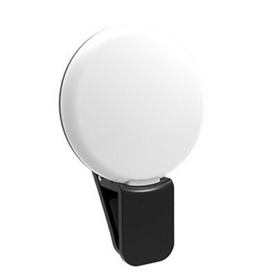 Portable Selfie LED Ring Flash Light Camera Photography For Smart Phone