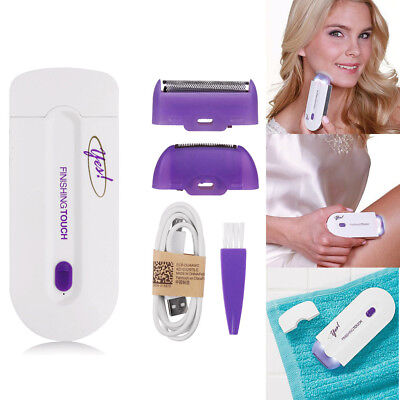 YES Finishing Touch Hair Remover Hair Remover Instant Pain With Sensor Light AU