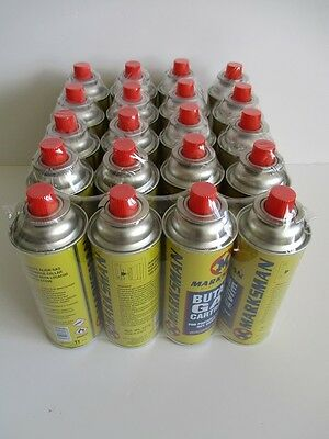 20 X Marksman Butane Gas Canisters - Collect Plymouth - No Posting