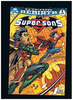 BAM ! Super Sons #1 Fried Pie Jonboy Meyers Color Variant FREE OR COMBINED SHIP