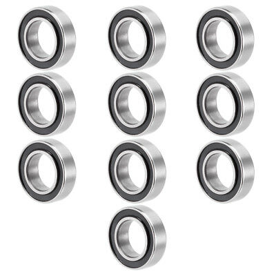 10pcs MR148-2RS 8mmx14mmx4mm Double Sealed Miniature Deep Groove Ball Bearing