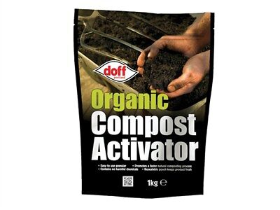 Doff Portland Organic Compost Activator - 1kg - ideal for garden & kitchen waste