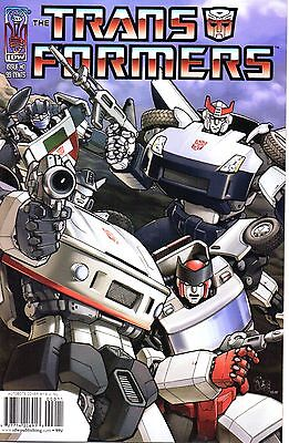 The Transformers Comic 0 Autobots Cover IDW 2005 Furman Su