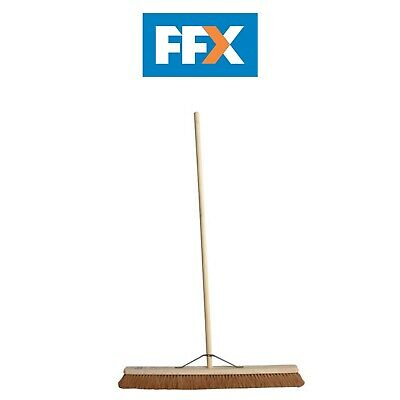 Faithfull FAIBRCOCO36H Soft Coco Broom 36in, Handle and Stay