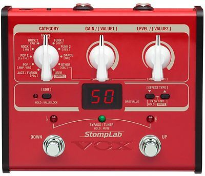 VOX Compact multi-effector StompLab SL1B for VOX Base New