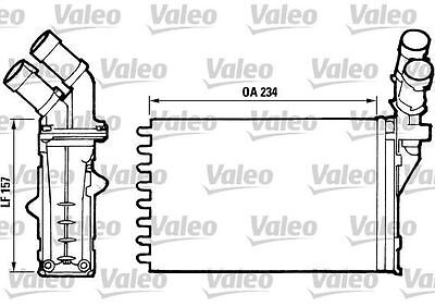 VALEO 812006 Heater Matrix for PEUGEOT CITROEN