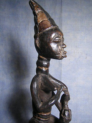 Ashanti Ghana Statue Africaine  African Art Premier Tribal Africain Masque Mask