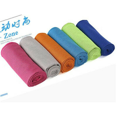 Magic Instant COOLING TOWEL Ice Cold Cooler Sport Gym Camping Travel Jogging