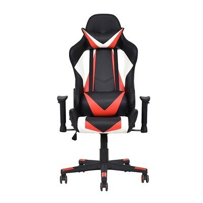 High Back Racing Style Computer Gaming Chair Reclining Office Seat US