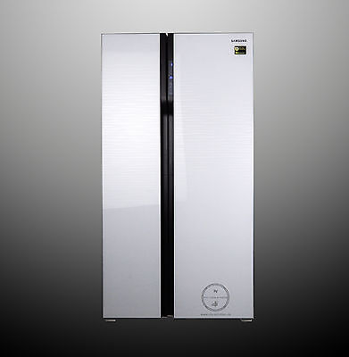 Samsung RS552NRUA1J Side-by-Side, 538 Ll, A+ ,  Design-Glasfront weiss