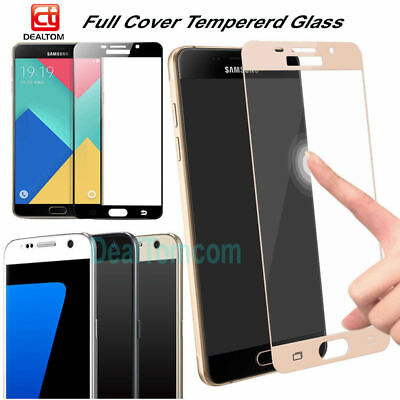 Edge 3D Full Cover Tempered Glass Film Screen Protector For Samsung Galaxy Phone