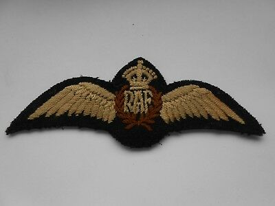 2ww RAF  royal air force  pilots brevet / wing