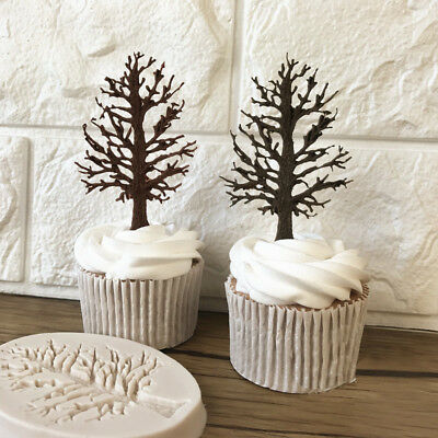 Hot!High Quality Big Tree Modelling Tool Cake Decoration Baking Mold Sugar Craft