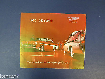 1956 De Soto Full Line Sales Brochure D8336