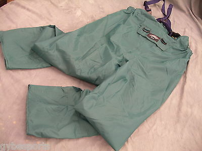 Fishing Over Trousers with Bib & Brace waterproof breathable lightweight HikingM