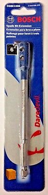 "Bosch DSBE1006 6"" Spade Bit Drill Extension for Daredevil Spade Bits"