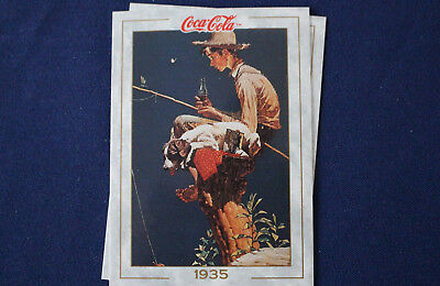 1993 Coca Cola Collection Series 1 Prototype Card #2 Lot of 2 Cards E4022