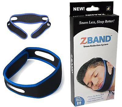 New Uk Snore Stop Belt Anti Snoring Cpap Chin Strap Sleep Apnea Jaw Solution