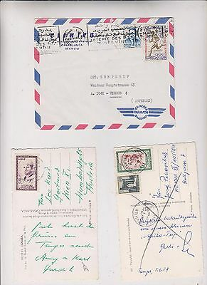 MOROCCO ,nice lot covers and postcards #
