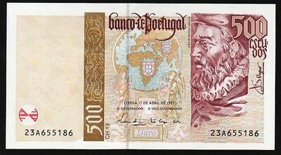 500 Escudos From Portugal 1997 M Unc