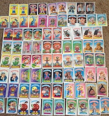 Garbage Pail Kids 3rd Series 80 Cards Excellent Condition