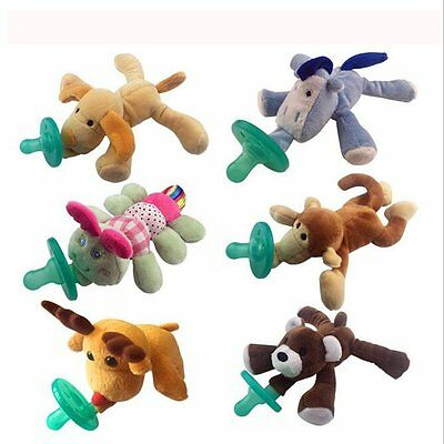 2017 Hot Latest WubbaNub Animal Plush Toy Infant Baby Soothie Pacifier