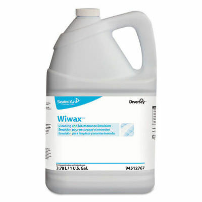 Diversey Wiwax Cleaning & Maintenance Emulsion Liquid 1 Gal 4/ctn 94512767 NEW